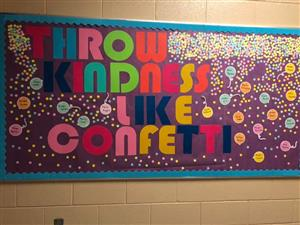 Photo of Bulletin Board from Hot Springs Elementary
