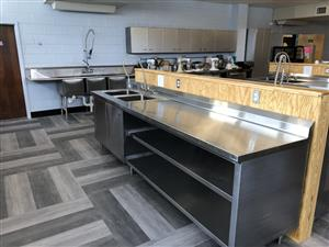 Culinary lab new equipment being installed at Madison High School