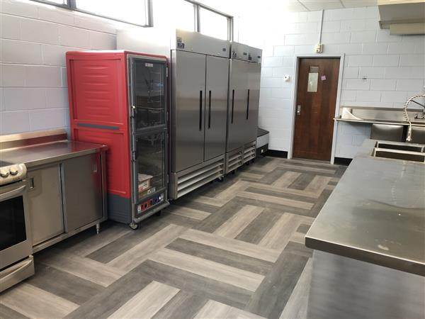 Photo of Equipment in Culinary Lab at Madison High School