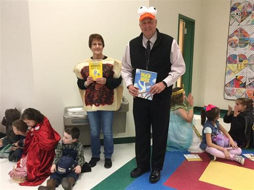 Dr. Hoffman Read across America Day