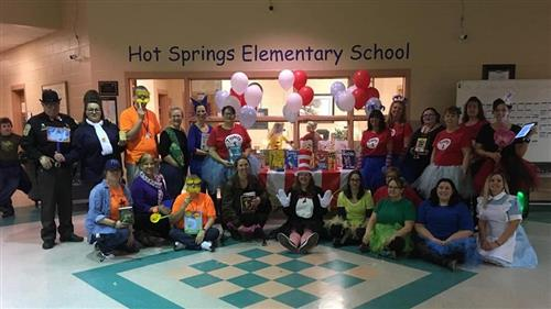Hot Springs Elementary School Staff Photo