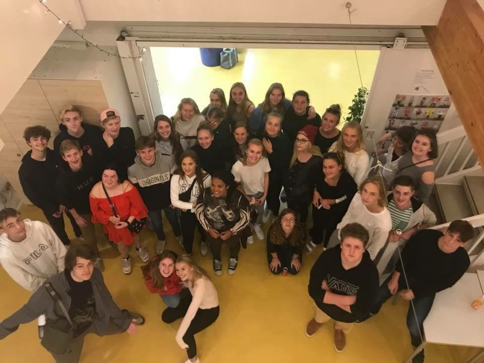 Photo of MECHS Students Visiting Denmark