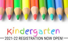 2021-2022 Kindergarten Registration Links