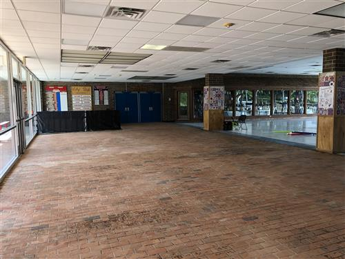 Madison High School Brick Floor Restoration
