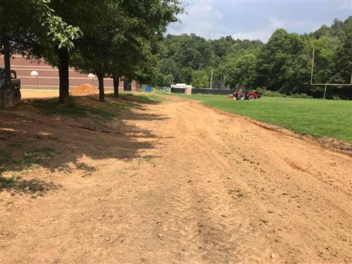 MMS Walking Track Construction