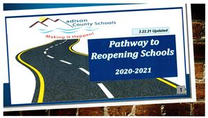 Pathway to Reopening Schools Update 3.22.21