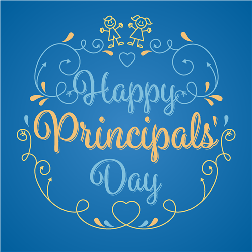 Happy School Principals' Day May 1st!  Thank you for all you do!!