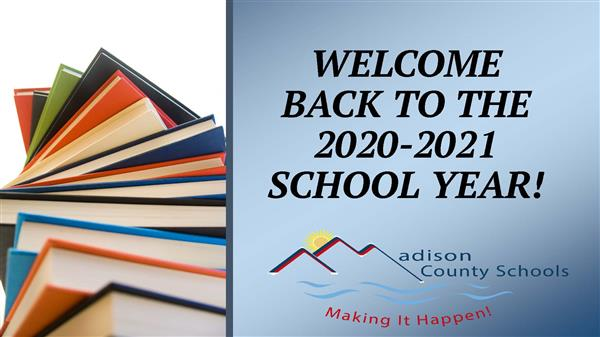 Welcome Back to the 2020-2021 School Year